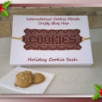 Holiday Cookie Sash