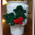Holly Jolly Cup Cozy