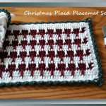 Christmas Plaid Placemat Set