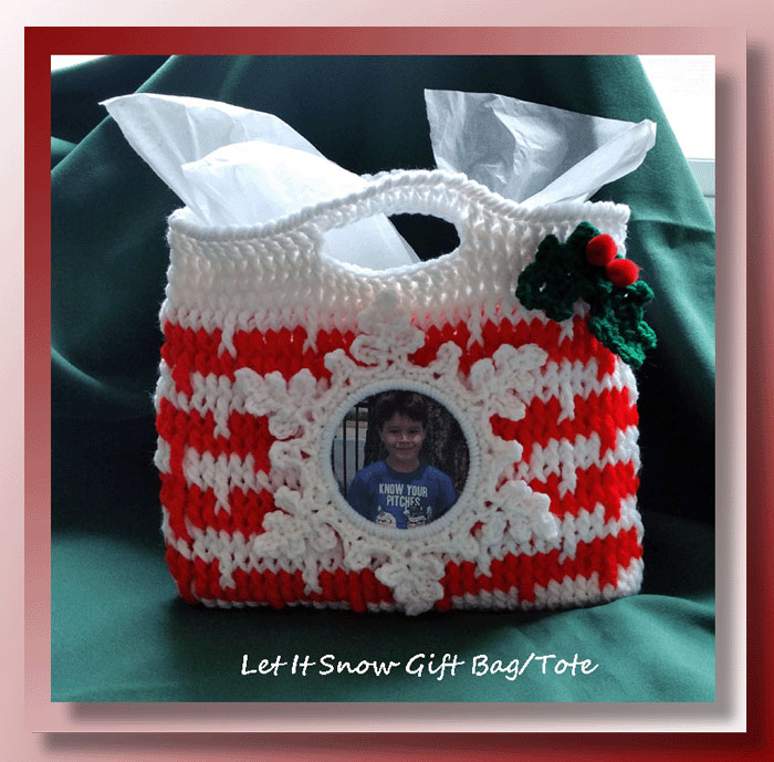 Let It Snow Gift Bag/Tote