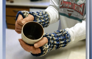 Northern Star Fingerless Gloves