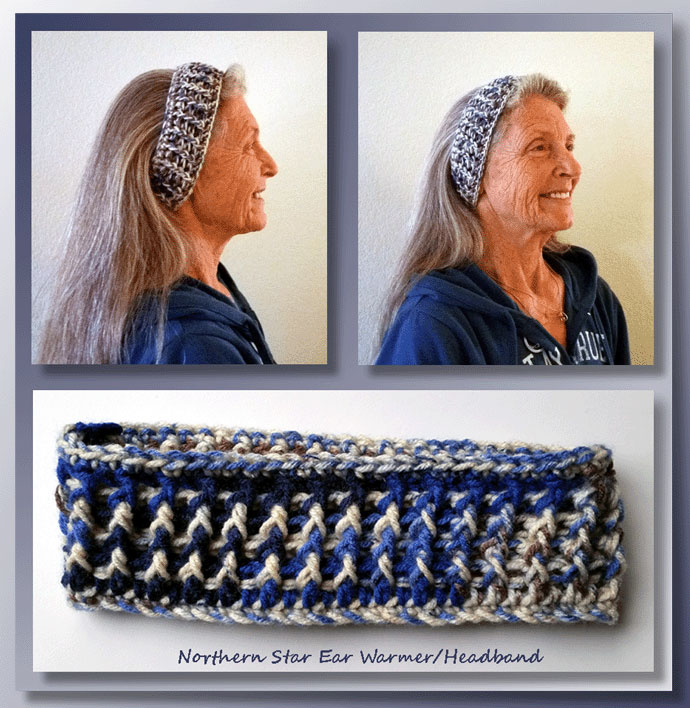 Northern Star Ear Warmers/Headband