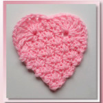 Textured Heart Coasters