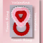 Valentine Towel Ring
