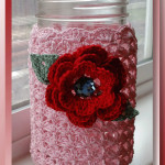 Dainty Clustered Mason Jar Cover
