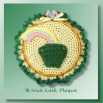 Ye Irish Luck Plaque