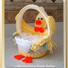 Little Duckling Easter Basket (CAL)