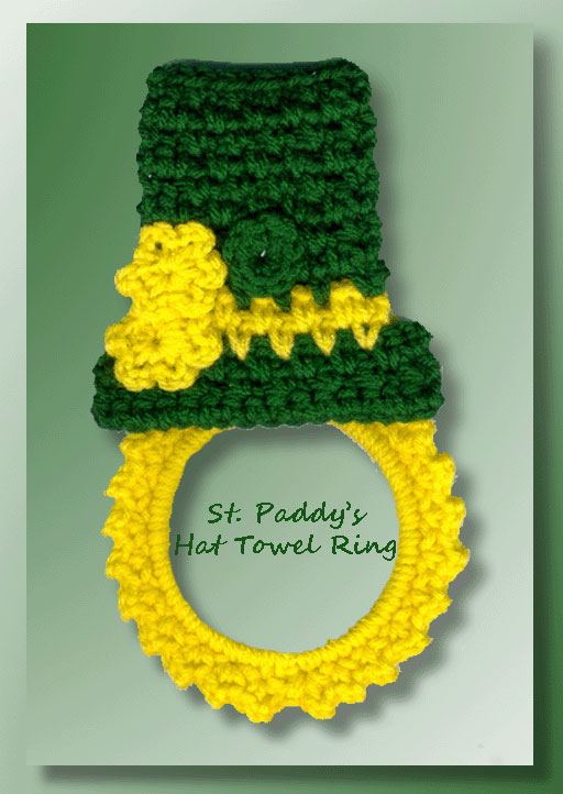 St. Paddy's Hat Towel Ring