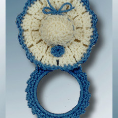 Mother's Day Hat Sachet Towel Ring
