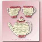 Tea Service Fridgie Set