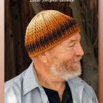 Latte Striped Beanie - Free crochet pattern