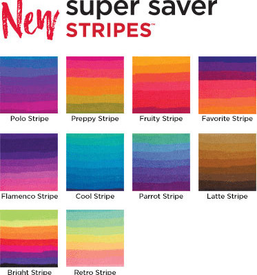 Red Heart Super Saver Stripes Yarn Review
