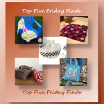 Top Five Friday Finds in free crochet beach and picnic themed projects