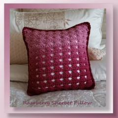 Raspberry Sherbet Pillow