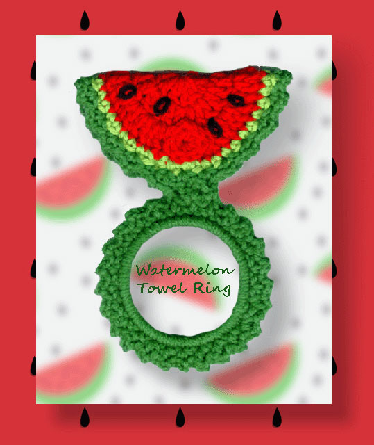 Watermelon Towel Ring