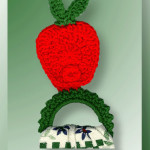 Apple-a-Day Towel Ring