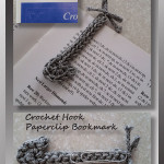 Crochet Hook Paperclip Bookmark