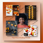 Top Five Friday Finds - free crochet candy corn Halloween patterns