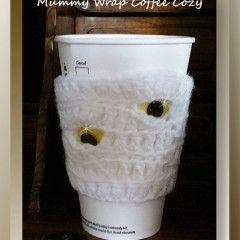 Mummy Wrap Coffee Cozy
