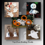 Top Five Friday finds in Halloween crochet ghost patterns