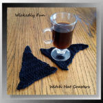 Wickedly Fun Witch Hat Coasters