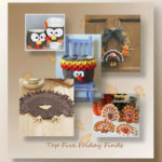 Top Five Friday Finds in free crochet turkey patterns