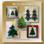 Top Five Friday Finds in free crochet Christmas tree patterns