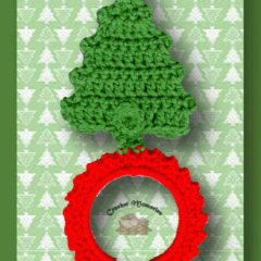 Christmas Tree Towel Ring