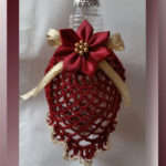 Victorian Pineapple Bulb Cover - Free Christmas ornament crochet pattern