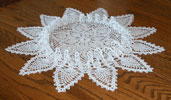 Inspired Ruffled Pineapple Doily