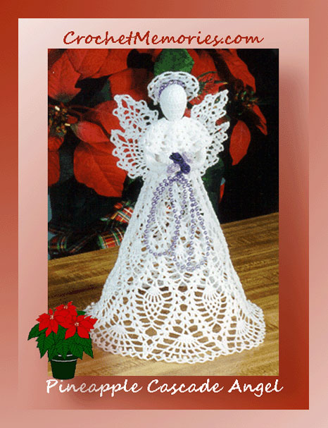 Crochet Angel Patterns Pineapple Cascade Angel