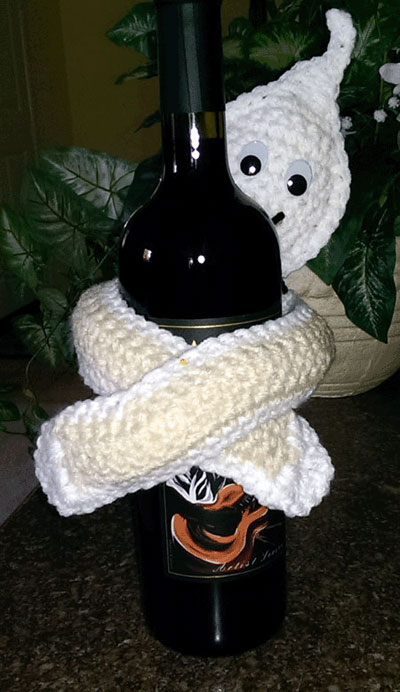 Ghostly Basket Topper Crochet Halloween Patterns