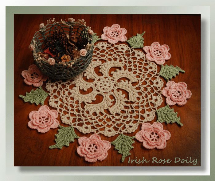 Irish Rose Doily 300 Crochet Memories